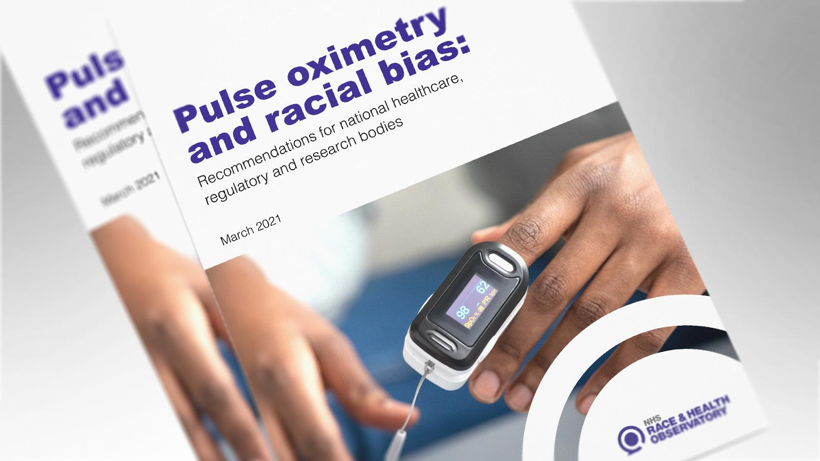 PULSE OXIMETER AND RACIAL BIAS