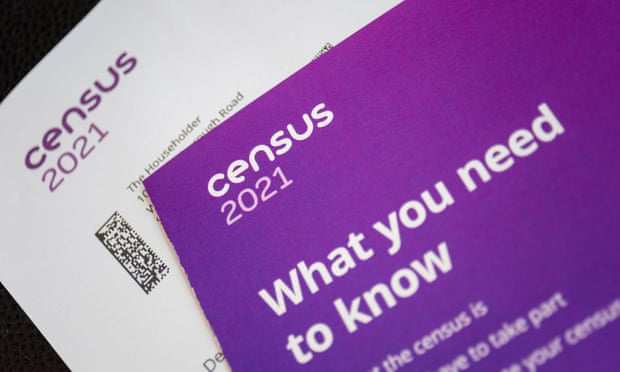 The census is due to take place on 21 March. All households in England and Wales should complete it or risk a fine of up to £1,000. Photograph: Avpics/Alamy Live News